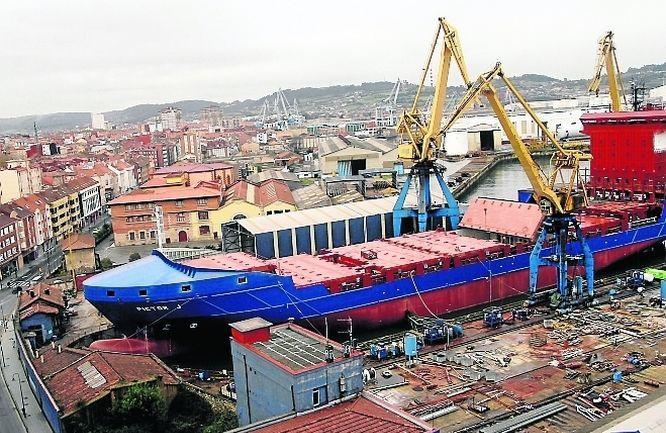 Astilleros asturianos «controlan» la producción de barcos en España